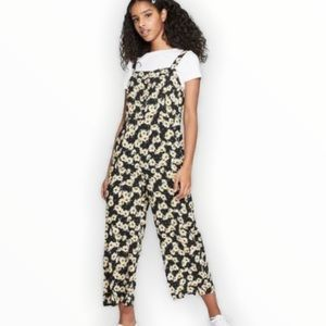 Wild Fable Sunflower Smocked Jumpsuit